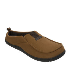 Rugged Microsuede Clog Slipper