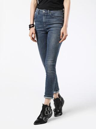SKINZEE-HIGH 0677E, Blue jeans
