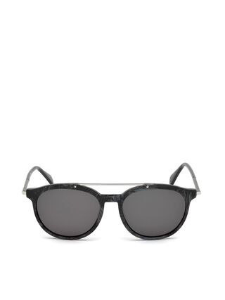 Aviator Black Sunglasses 8hj6