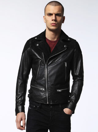 Diesel Leather Jacket |Mens Leather Jackets Online| Diesel USA