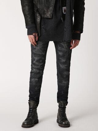 TEPPHAR 084LS, Black Jeans
