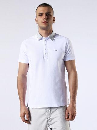 T-ORANGE-DENIM, White