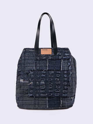 D-ROPPONGY TOTE, Jean bleu