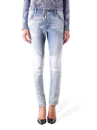 KRAILEY-SP JOGGJEANS 0672G, Blue jeans