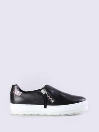 S-ANDYES ZIP ON W, Black