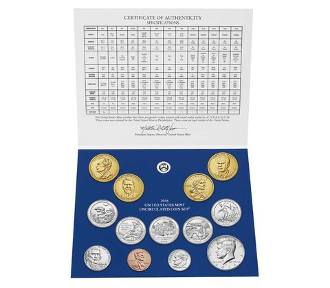 Uncirculated Coin Set 2016,  image 3