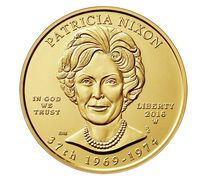 Patricia Nixon 2016 First Spouse Series One-Half Ounce Gold Uncirculated Coin