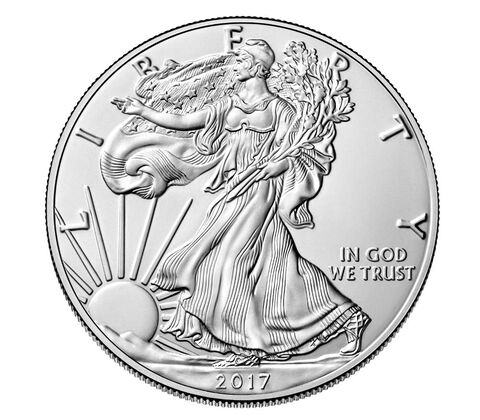 American Eagle 2017 One Ounce Silver Uncirculated Coin