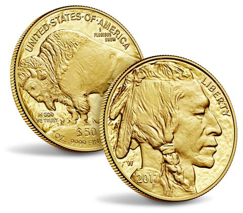 American Buffalo 2017 One Ounce Gold Proof Coin,  image 3