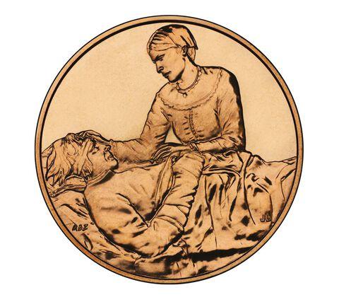 Margaret Taylor 2009 Bronze Medal 1 5/16 Inch,  image 2