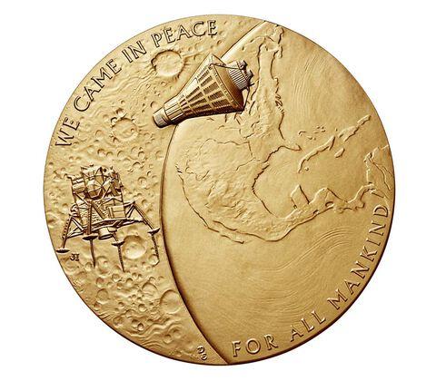 New Frontier Bronze Medal 3 Inch,  image 2
