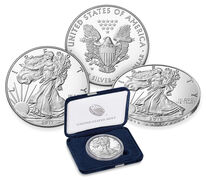 American Eagle Silver Proof Coins (2016 – 2017) Bundle