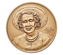 Dorothy Height Bronze Medal 1.5 Inch