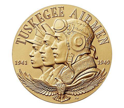 Tuskegee Airmen Bronze Medal 1.5 Inch