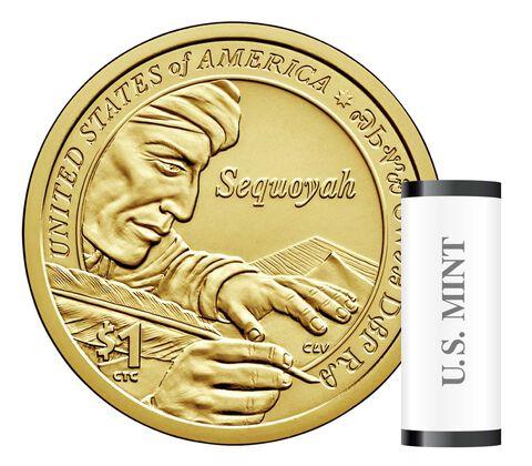 Native American $1 Coin 25-Coin Roll Enrollment