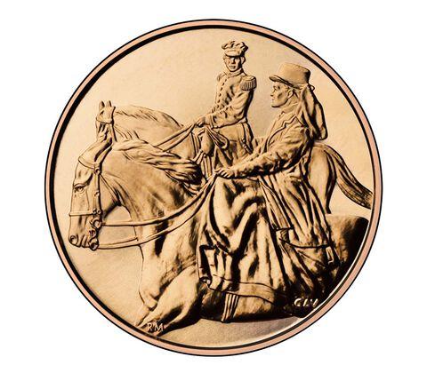 Julia Grant 2011 Bronze Medal 1 5/16 Inch,  image 2