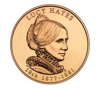 Lucy Hayes 2011 Bronze Medal 1 5/16 Inch