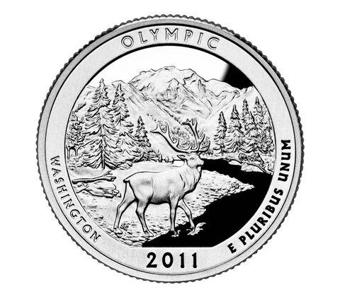 Olympic National Park 2011 Quarter, 3-Coin Set,  image 2