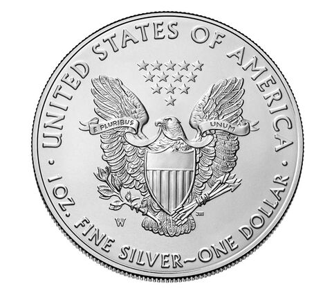 American Eagle 2017 One Ounce Silver Uncirculated Coin,  image 2