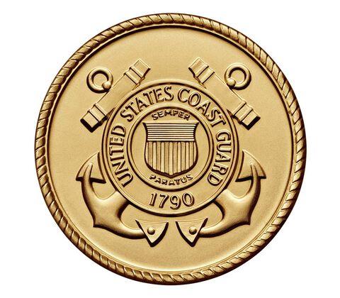 U.S. Coast Guard Bicentennial Bronze Medal 3 Inch,  image 2