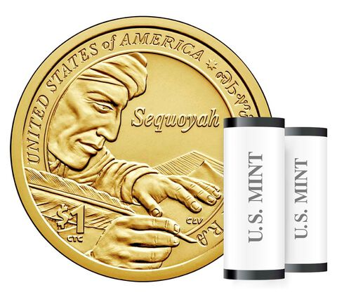 Native American $1 Coin Two-Roll Set Enrollment
