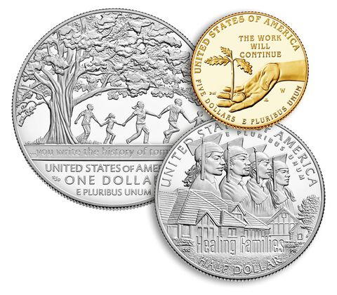 Boys Town Centennial 2017 Three-Coin Proof Set,  image 3
