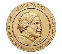 Rosa Parks Bronze Medal 3 Inch