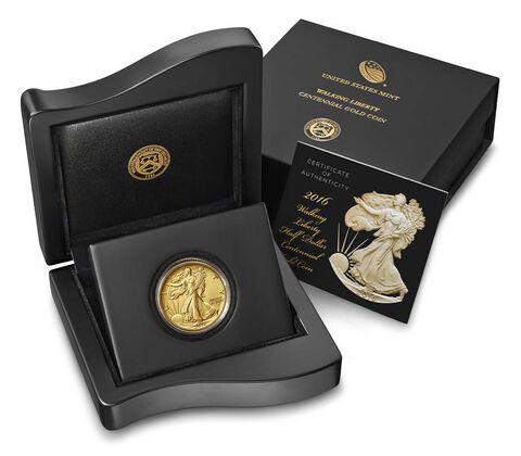 Walking Liberty 2016 Centennial Gold Coin,  image 3