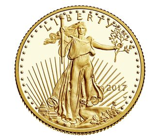 American Eagle 2017 One-Quarter Ounce Gold Proof Coin