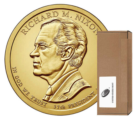 Richard M. Nixon Presidential 2016 Rolls, Bags and Boxes
