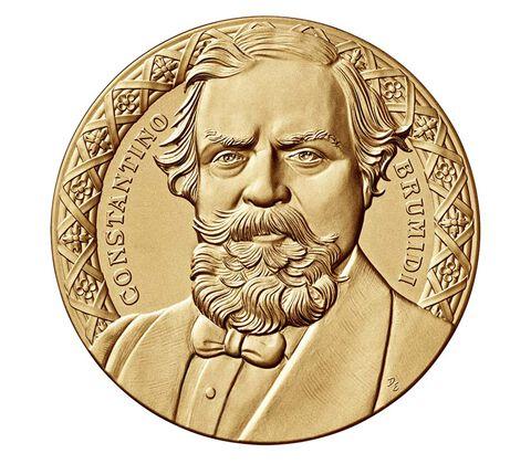 Constantino Brumidi Bronze Medal 3 Inch