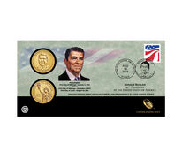 Ronald Reagan 2016 One Dollar Coin Cover