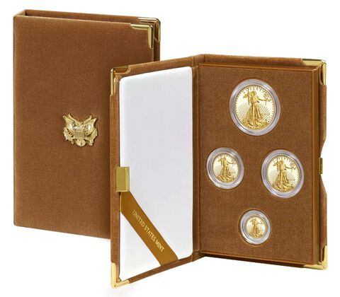 American Eagle 2017 Gold Proof Four-Coin Set,  image 1