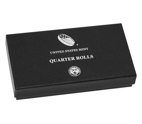 Quarter Rolls Collector%27s Box,  image 2