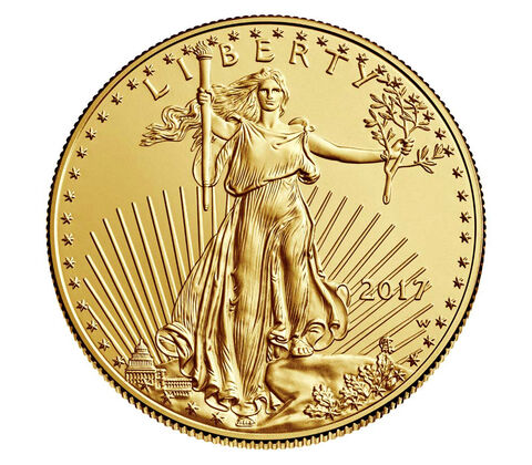 American Eagle 2017 One Ounce Gold Uncirculated Coin