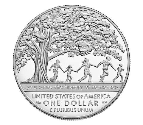 Boys Town Centennial 2017 Proof Silver Dollar,  image 2