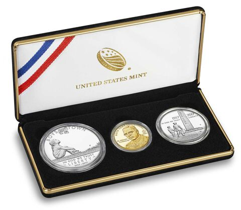 Boys Town Centennial 2017 Three-Coin Proof Set