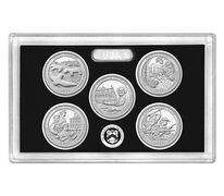 America the Beautiful Quarters 2017 Silver Proof Set