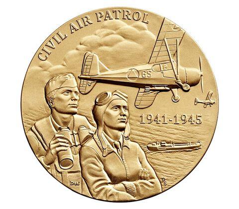 Civil Air Patrol Bronze Medal 3 Inch
