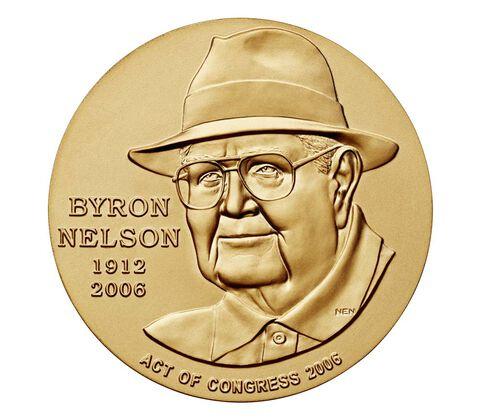 Byron Nelson Bronze Medal 1.5 Inch