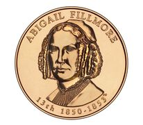 Abigail Fillmore 2010 Bronze Medal 1 5/16 Inch