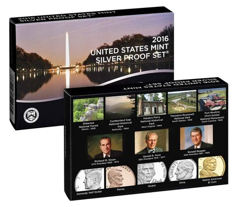Silver Proof Set 2016,  image 2