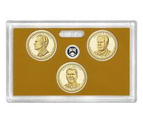 Presidential 2016 One Dollar Coin Proof Set