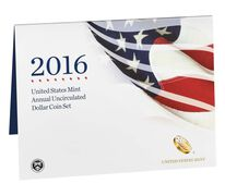 Annual Uncirculated Dollar Coin Set 2016