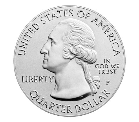 Frederick Douglass National Historic Site 2017 Uncirculated Five Ounce Silver Coin,  image 2