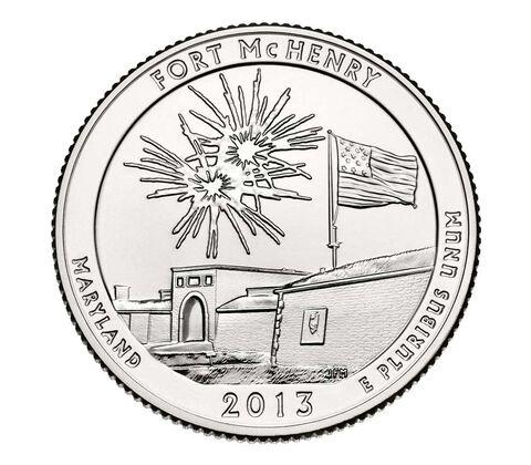 Fort McHenry National Monument and Historic Shrine 2013 Quarter, 3-Coin Set,  image 4