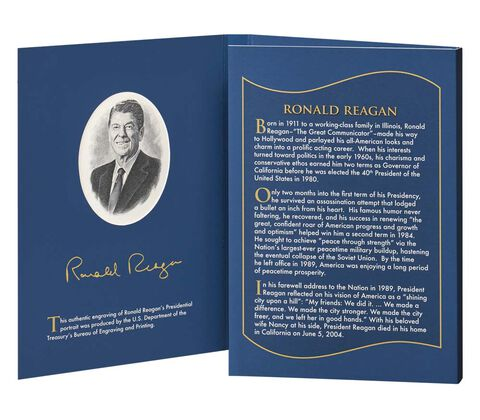 2016 Coin & Chronicles Set - Ronald Reagan,  image 3