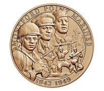 Montford Point Marines Bronze Medal 1.5 Inch