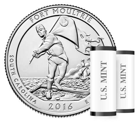 Fort Moultrie (Fort Sumter National Monument) 2016 Rolls and Bags