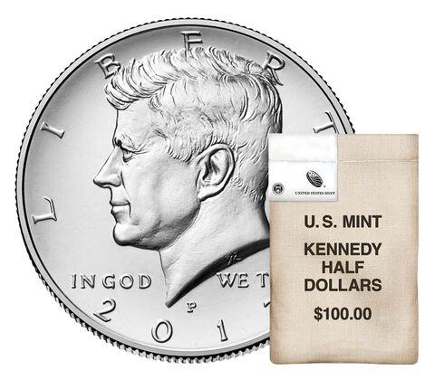 Kennedy Half Dollar 200-Coin Bag Enrollment